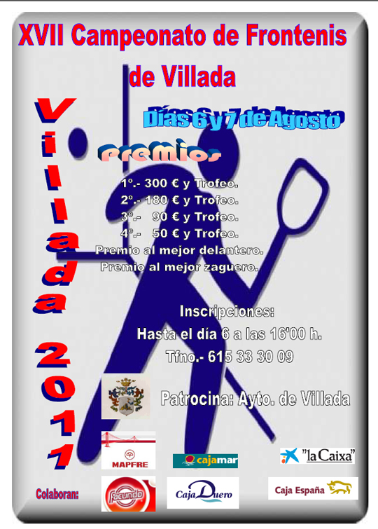 XVII Campeonato de Frontenis de Villada