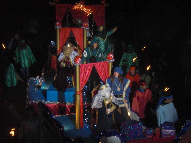 Cabalgata de Reyes en Villada