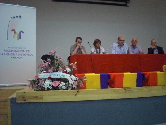 Homenaje a las Victimas de la Guerra Civil en Villada.