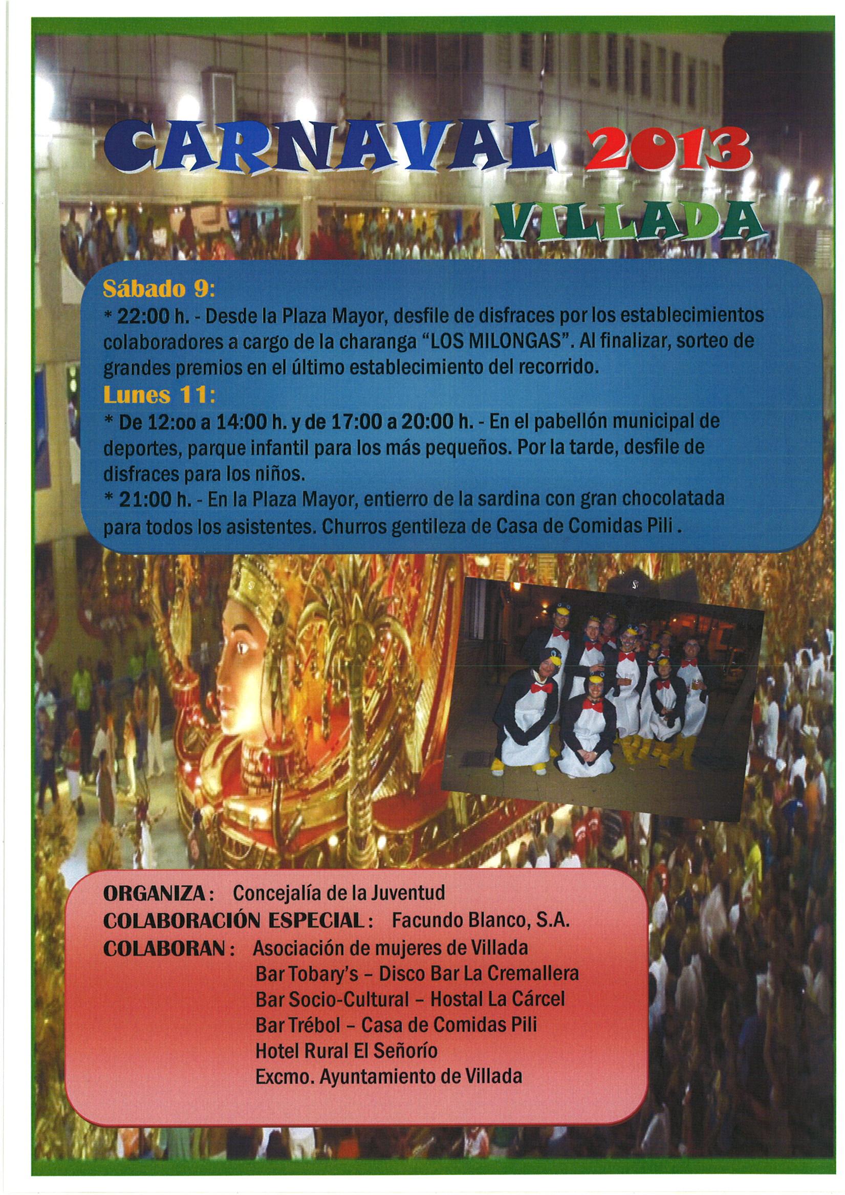 Carnavales 2013.