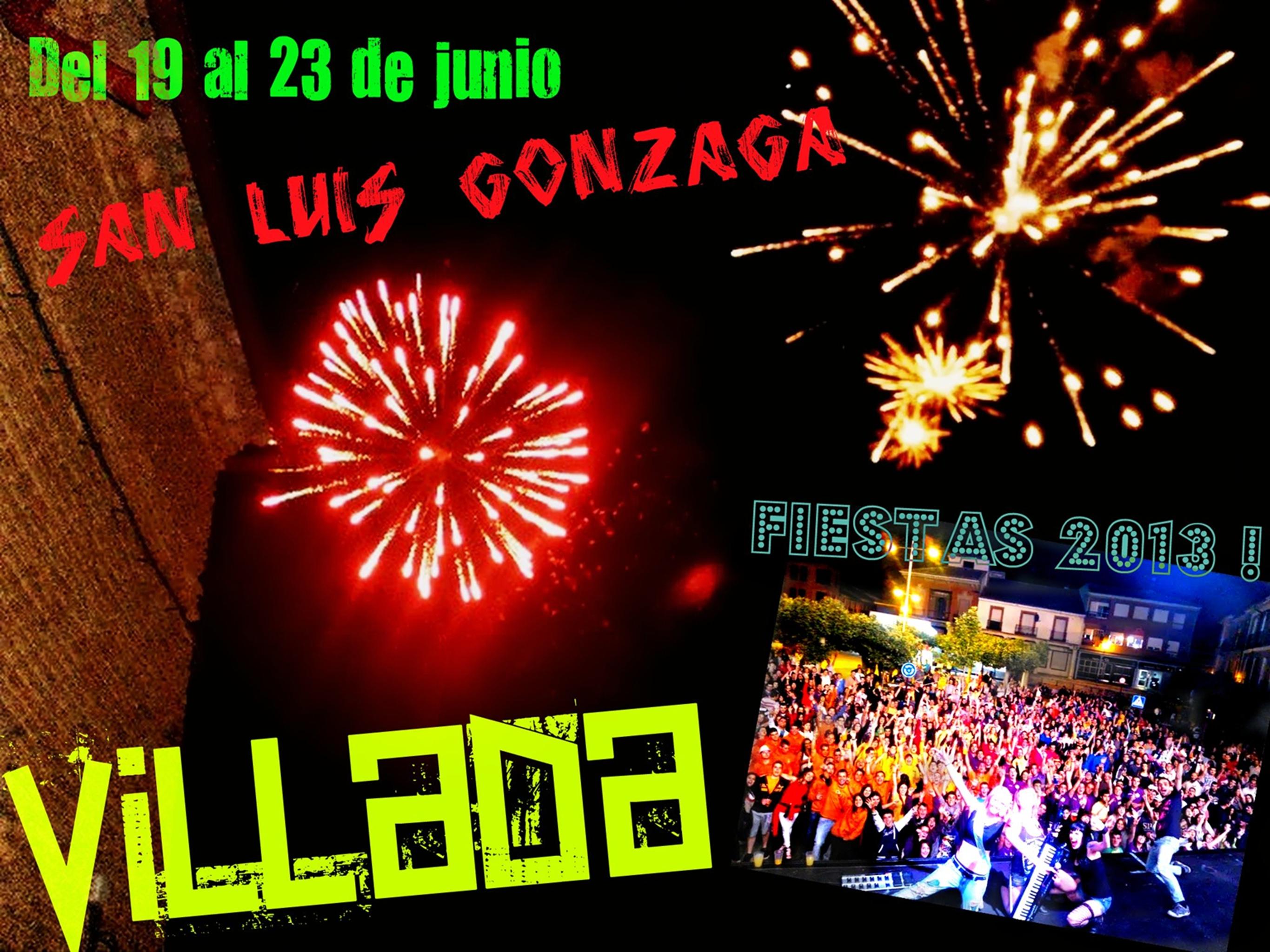 Fiestas San Luis Gonzaga 2013