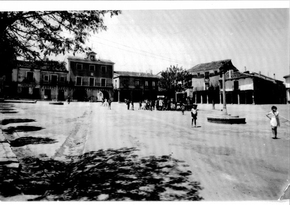 Plaza Mayor antigua