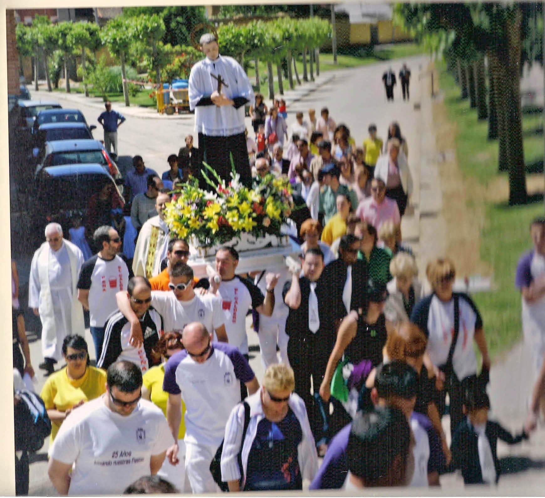 Procesion del Patron San Luis Gonzaga