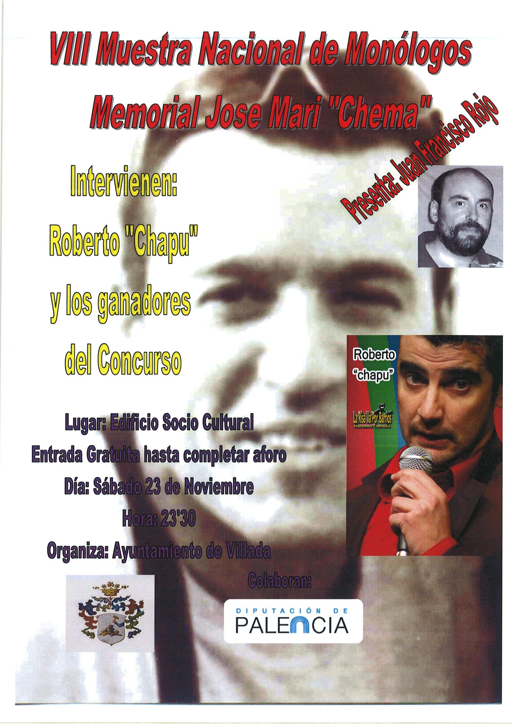 Gala Final VIII Edición Nacional de Monólogos «Memorial Chema»