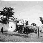 antigua entrada campo de futbol