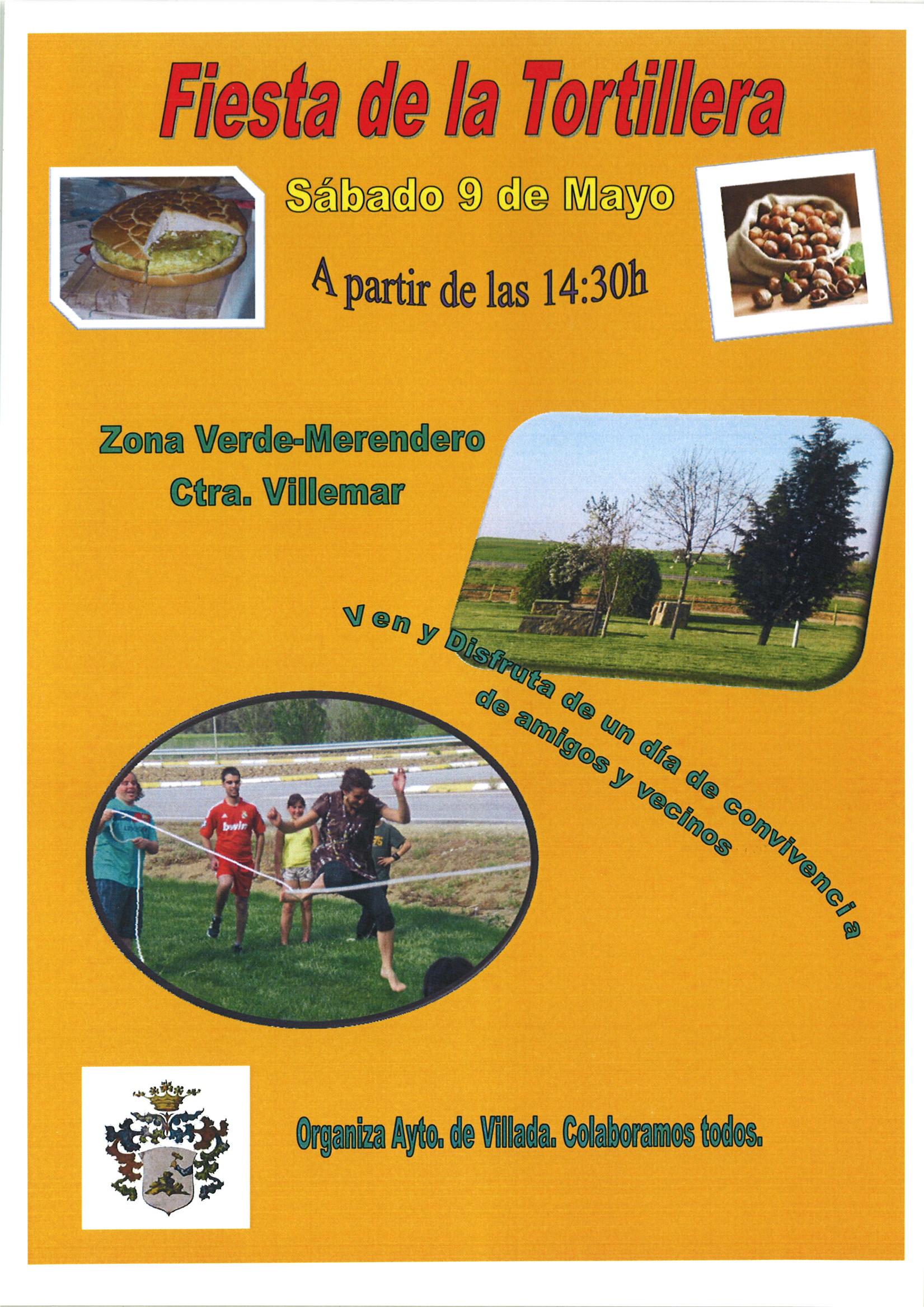 Fiesta de la Tortillera 2015. Día 9 de Mayo