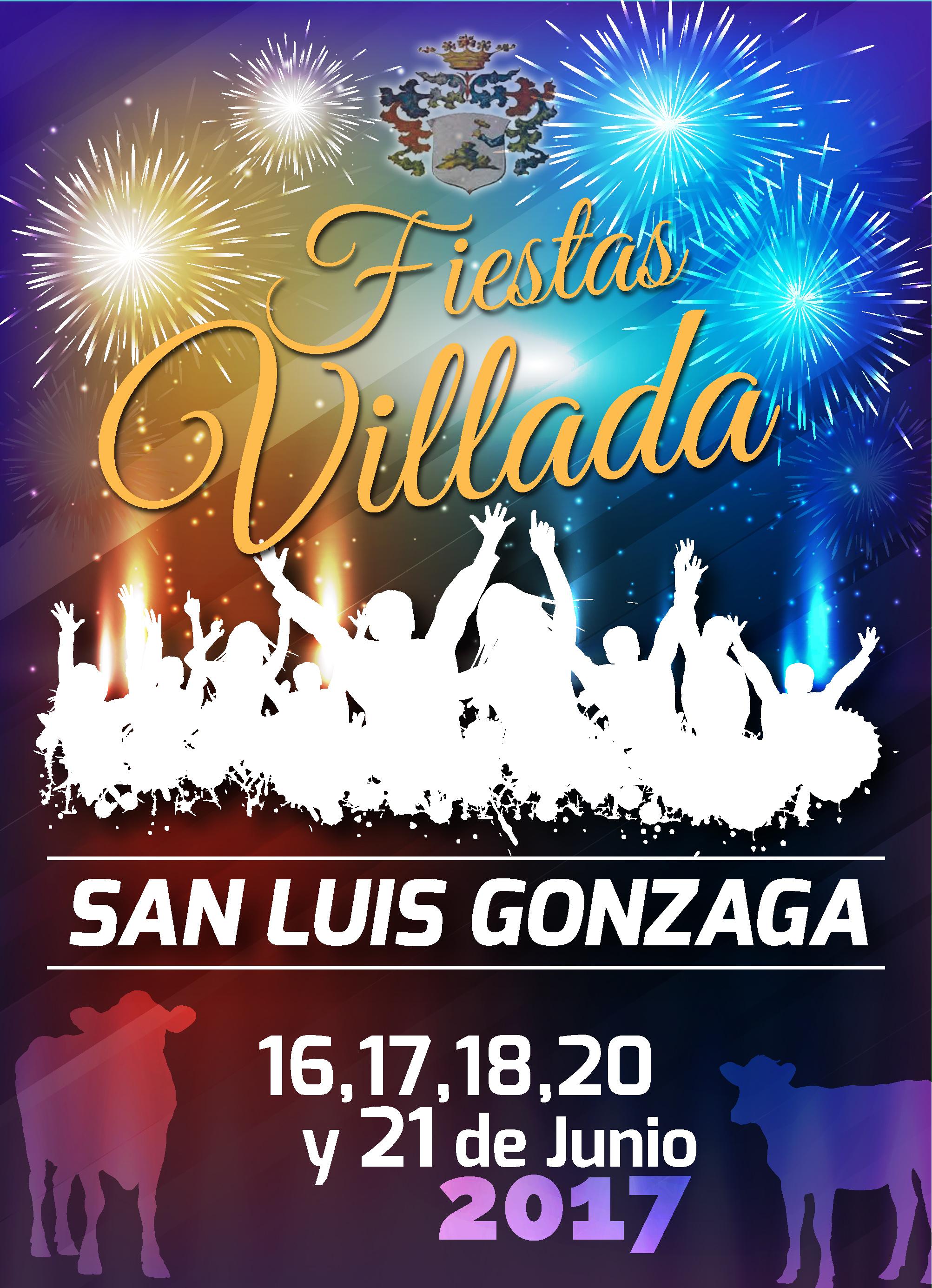Fiestas San Luis 2017. 16, 17, 18, 20 y 21 de Junio.