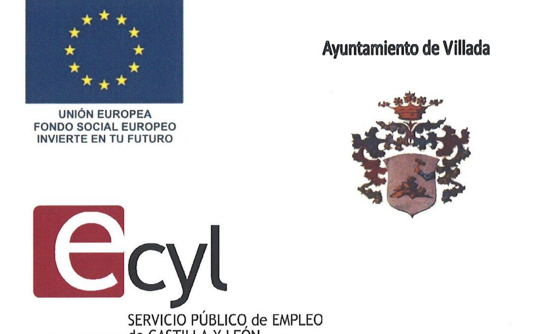 Subvención de la Junta de Castilla y León para la Contratación de Personas con Discapacidad, cofinanciada por el Fondo Social Europeo.
