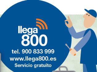 Informacion despliegue 4G en la banda ancha de 800Mhz